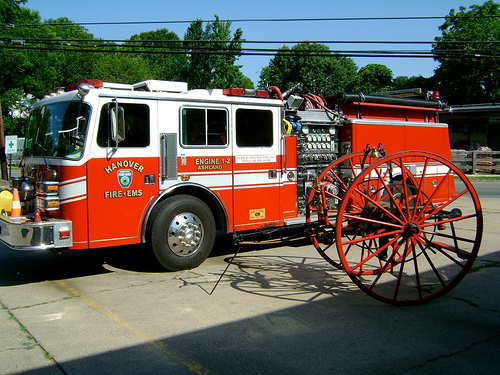 Engine 1-2 and Hose Reel 1